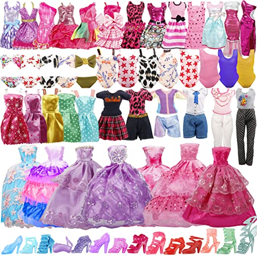 №068 Handmade Doll Clothes fit curvy size Blouse and Leggings for Dolls.