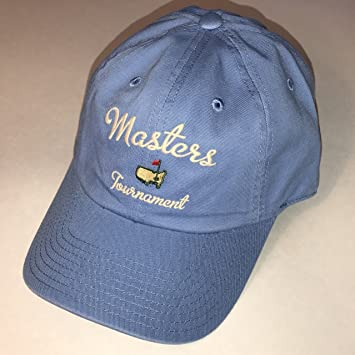 d5abfc567e734 Image Unavailable. Image not available for. Color  Masters golf hat  carolina blue script logo augusta ...