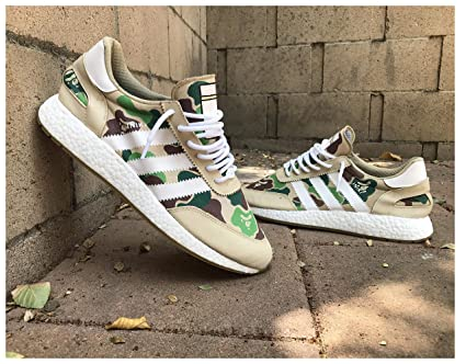 edac59b4fa5ab Image Unavailable. Image not available for. Color: WeTheBlueprint - Bape x  Adidas NMD R1 Shoes ...