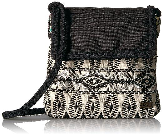 Amazon.com: Roxy Just Remember bolso bandolera, negro, talla ...