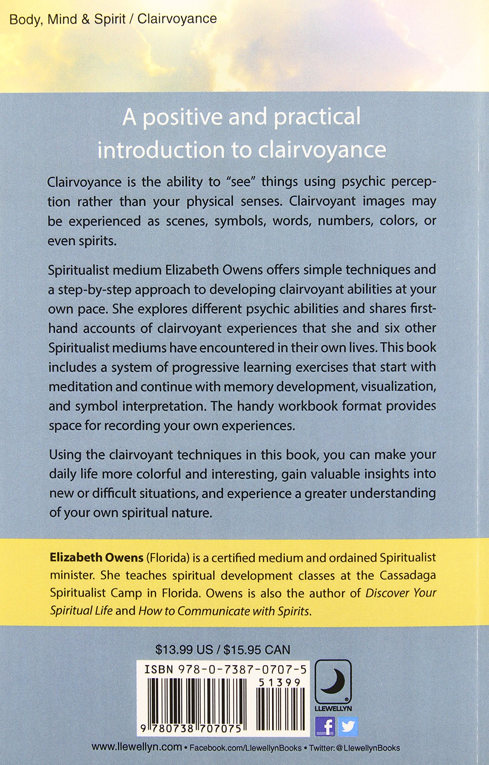 Amazon Spiritualism Clairvoyance For Beginners Simple