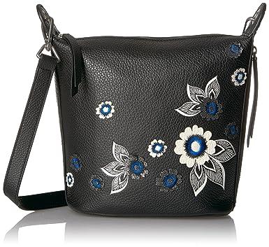 53da6c80ff Amazon.com  Vera Bradley Halo Embroidered and Applique Carson Mini ...