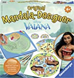 Ravensburger - 29842 - Mandala Designer - Moana La Princesse Du Bout Du Monde - Artistique