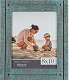 Pinnacle Frames and Accents 8X10 Rustic Turquoise Frame, Blue