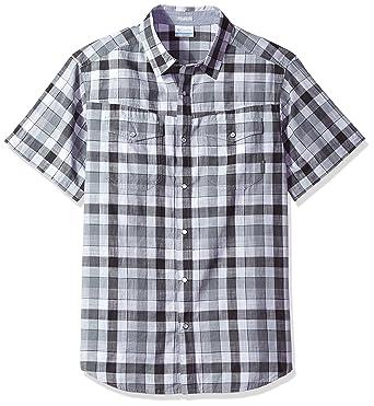 c8b459f1fc0 Amazon.com: Columbia Men's Leadville Ridge Short-Sleeve Shirt: Clothing