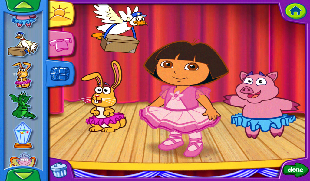 Amazon.com: Dora's Dress-Up Adventures!: Appstore for Android