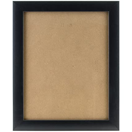 amazon com craig frames 1wb3bk 4 by 10 inch picture frame smooth