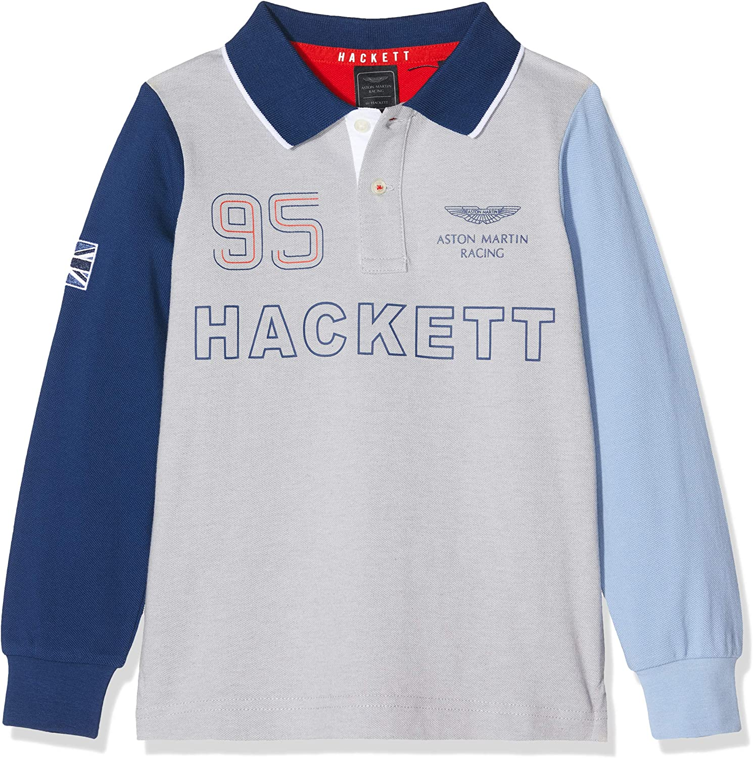 Hackett London Amr Multi LS Polo para Niños: Amazon.es: Ropa y ...