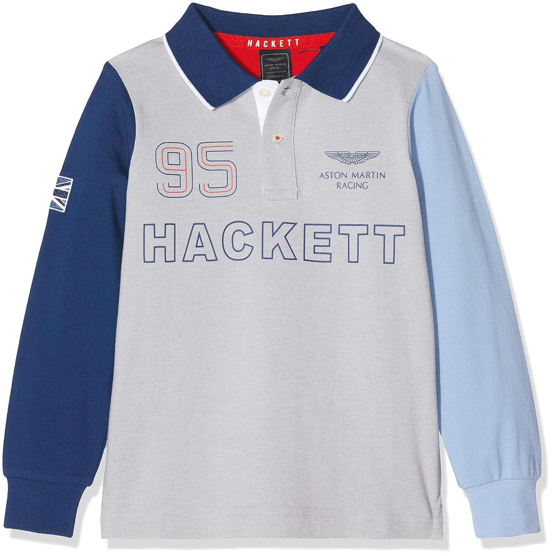 Hackett London Amr Multi LS Polo para Niños: Amazon.es: Ropa y ...