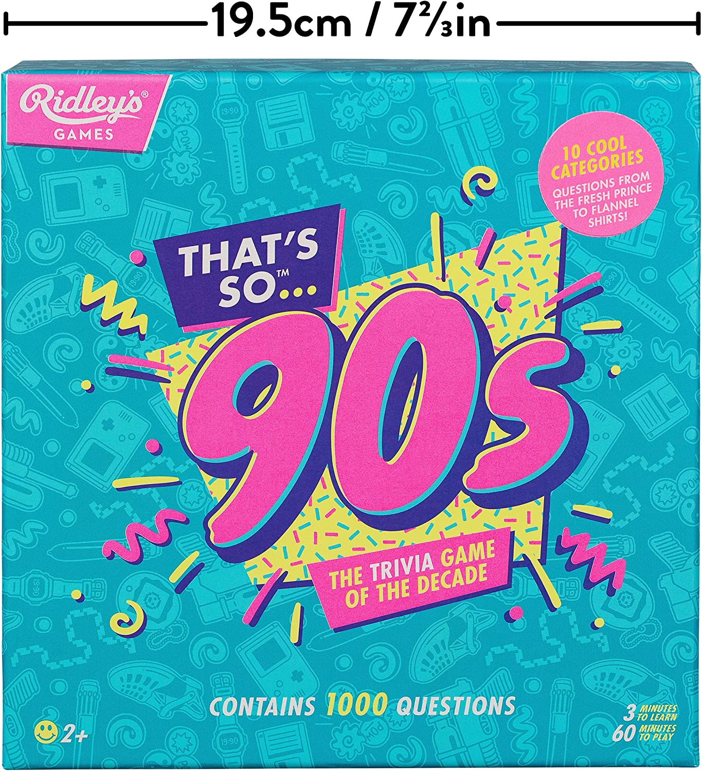 Ridleys Thats So Nerdy Team Trivia Set Game for Families and Parties Groups