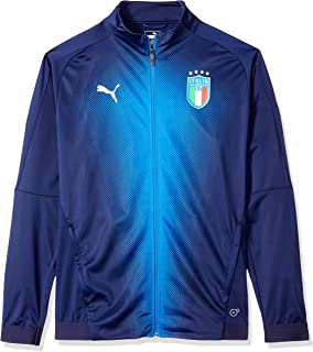 24a4f48095f3 Amazon.com  Puma Men s FIGC Italia Home Replica Soccer Jersey  Clothing