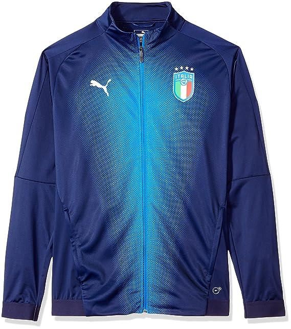 a33123beb6ca Puma Men s FIGC Italia Stadium Jacket  Amazon.in  Clothing   Accessories