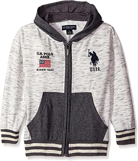 SALE NEW! Sherpa Hooded Jacket BOYS Polo Assn U.S