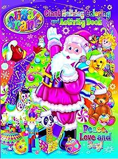 lisa frank peace love and joy holiday giant coloring and activity book - Lisa Frank Coloring Books