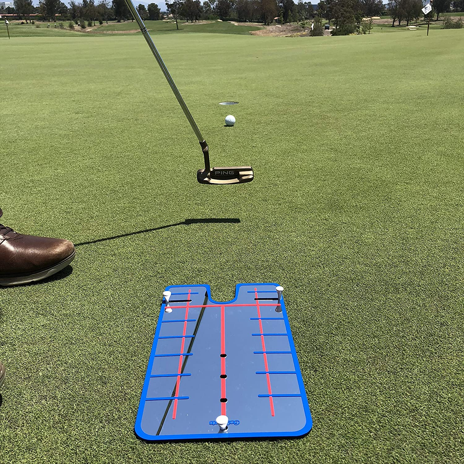 Amazon GoSports Golf Putting Alignment Mirror Guide Putt