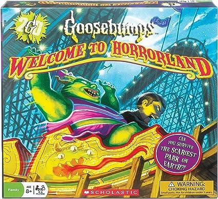Ideal Goosebumps Welcome to Horrorland Board Game: Amazon.es: Juguetes y juegos