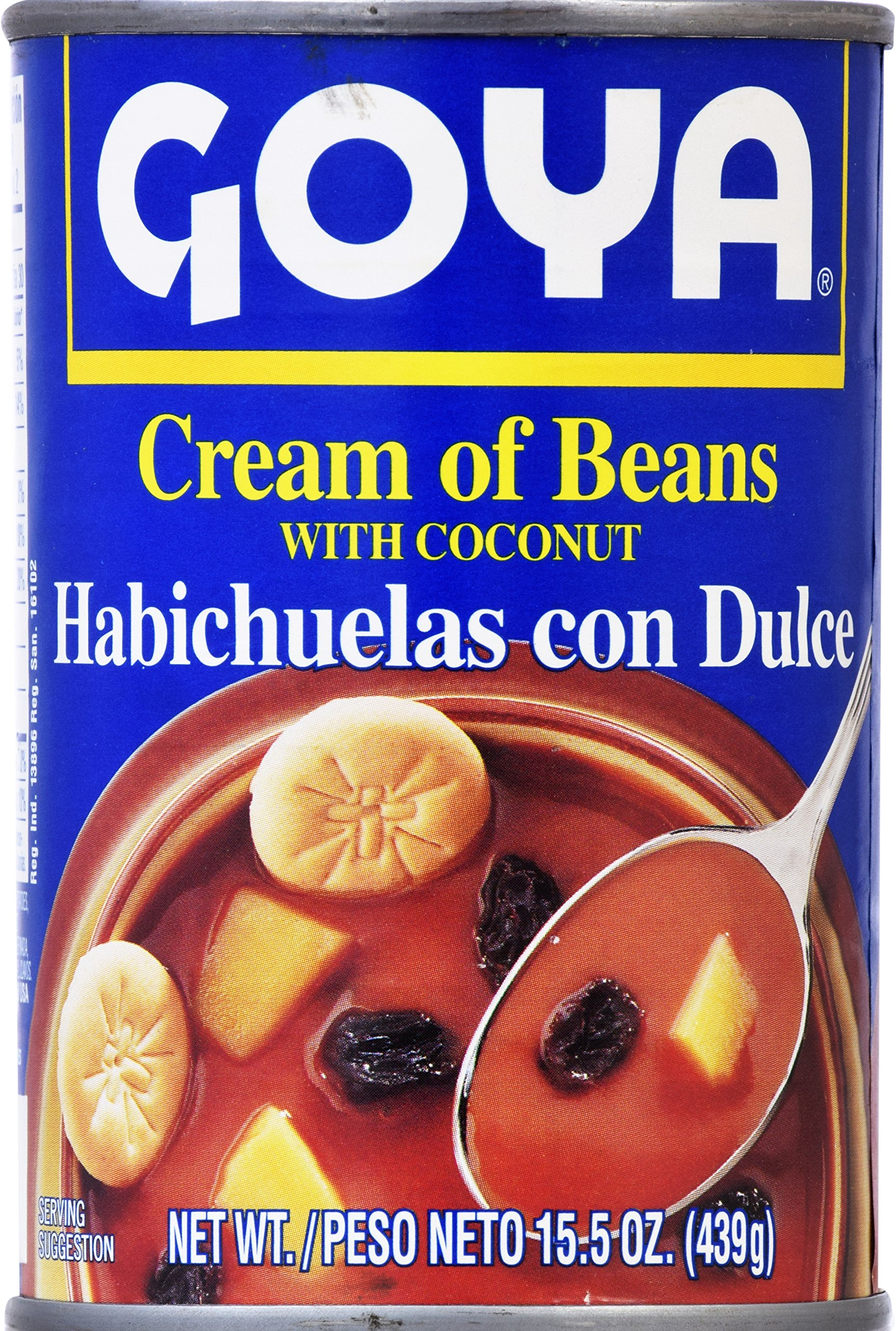 Goya Foods Cream of Beans with Coconut, 15.5 Ounce (Pack of 24)