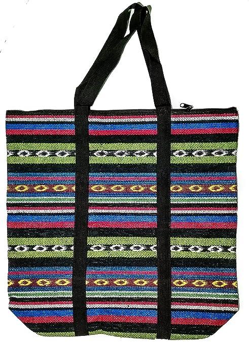 ccc948df496a sha Unisex Large Jute Cotton Eco Friendly Tote Bag (Black): Amazon.in:  Shoes & Handbags