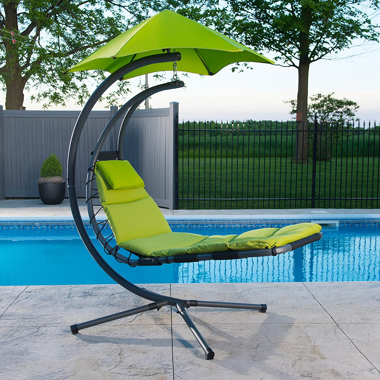 Vivere Original Dream Helicopter Chair - Green Apple