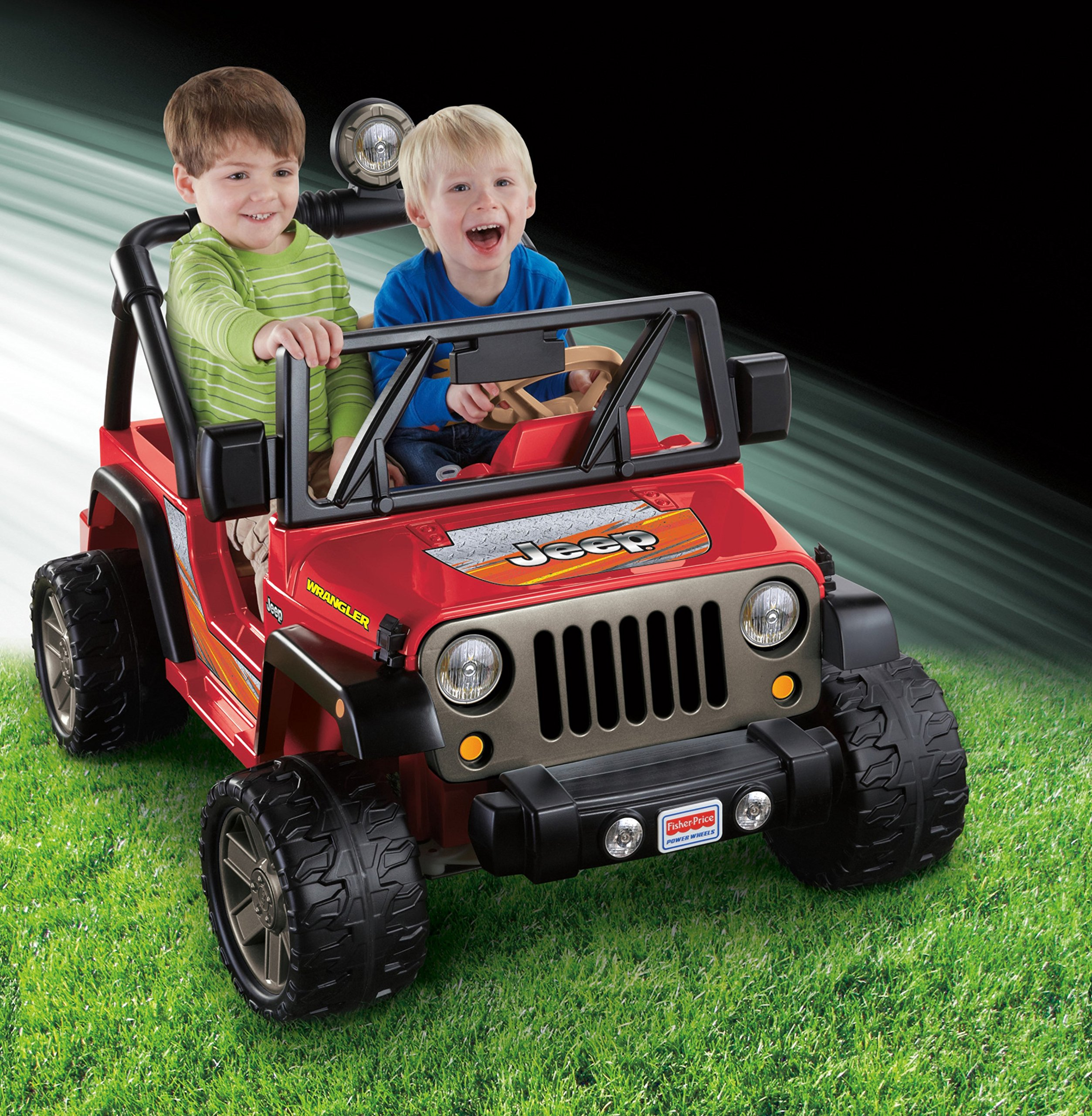 Power Wheels Jeep Wrangler, Red by Fisher-Price (Image #3)