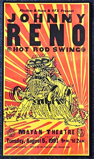 Amazon.com: Johnny Reno – Hot Rod Swing – Live at Teatro ...