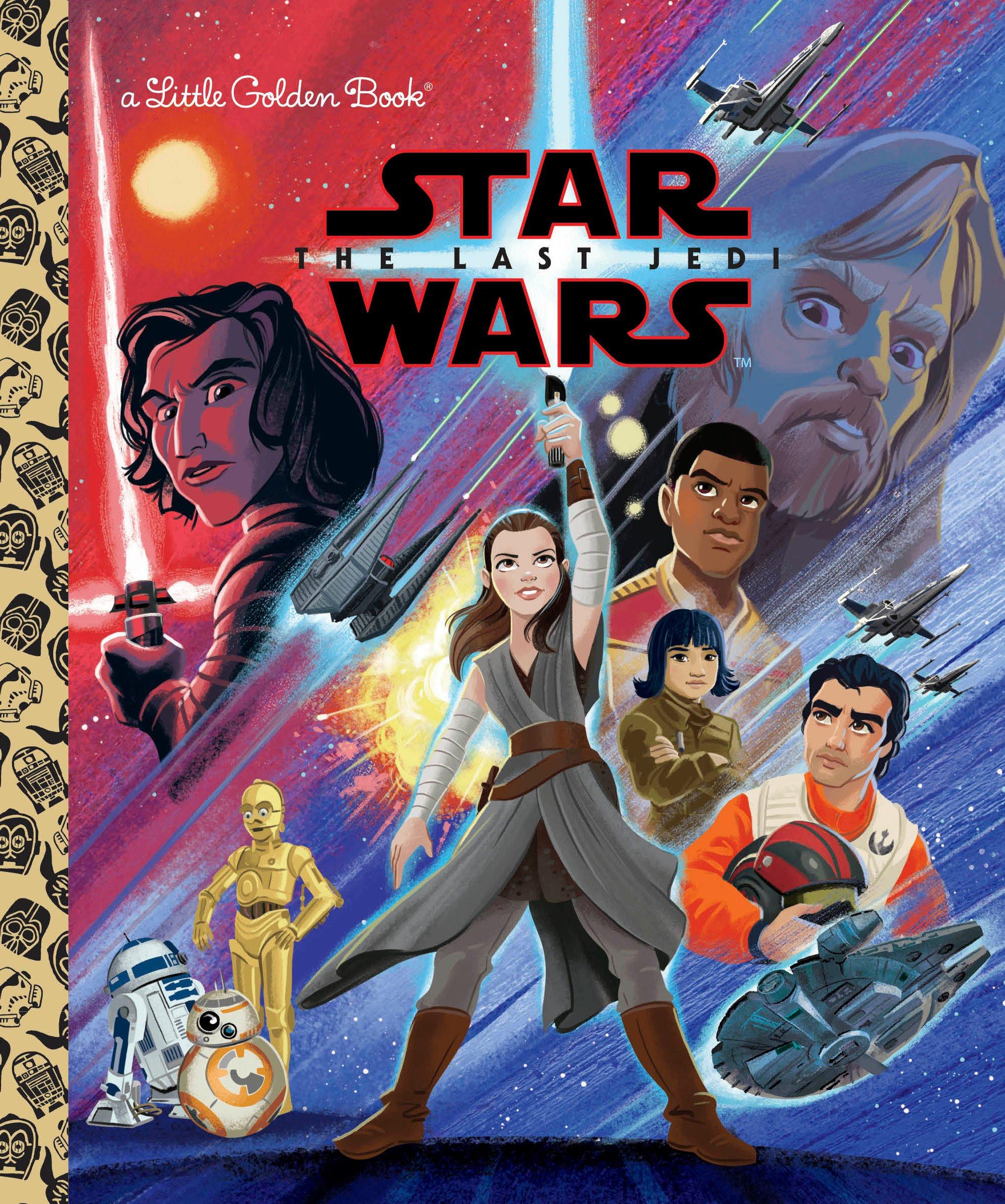 Star Wars: The Last Jedi (Star Wars) (Little Golden Book): Elizabeth  Schaefer, Alan Batson: 9780736435864: Amazon.com: Books