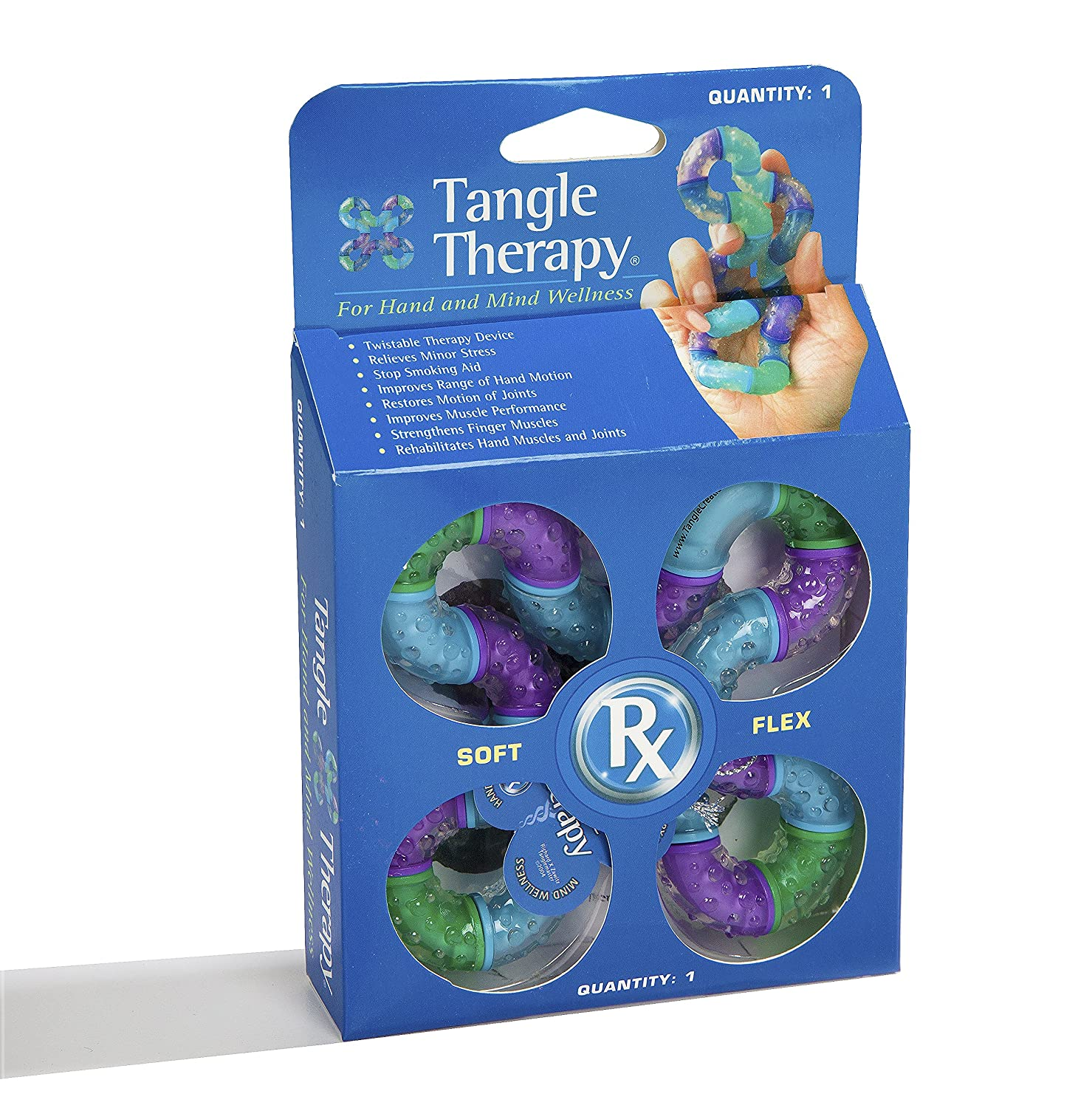 Amazon Tangle Therapy for Hand and Mind Wellness Toys & Games