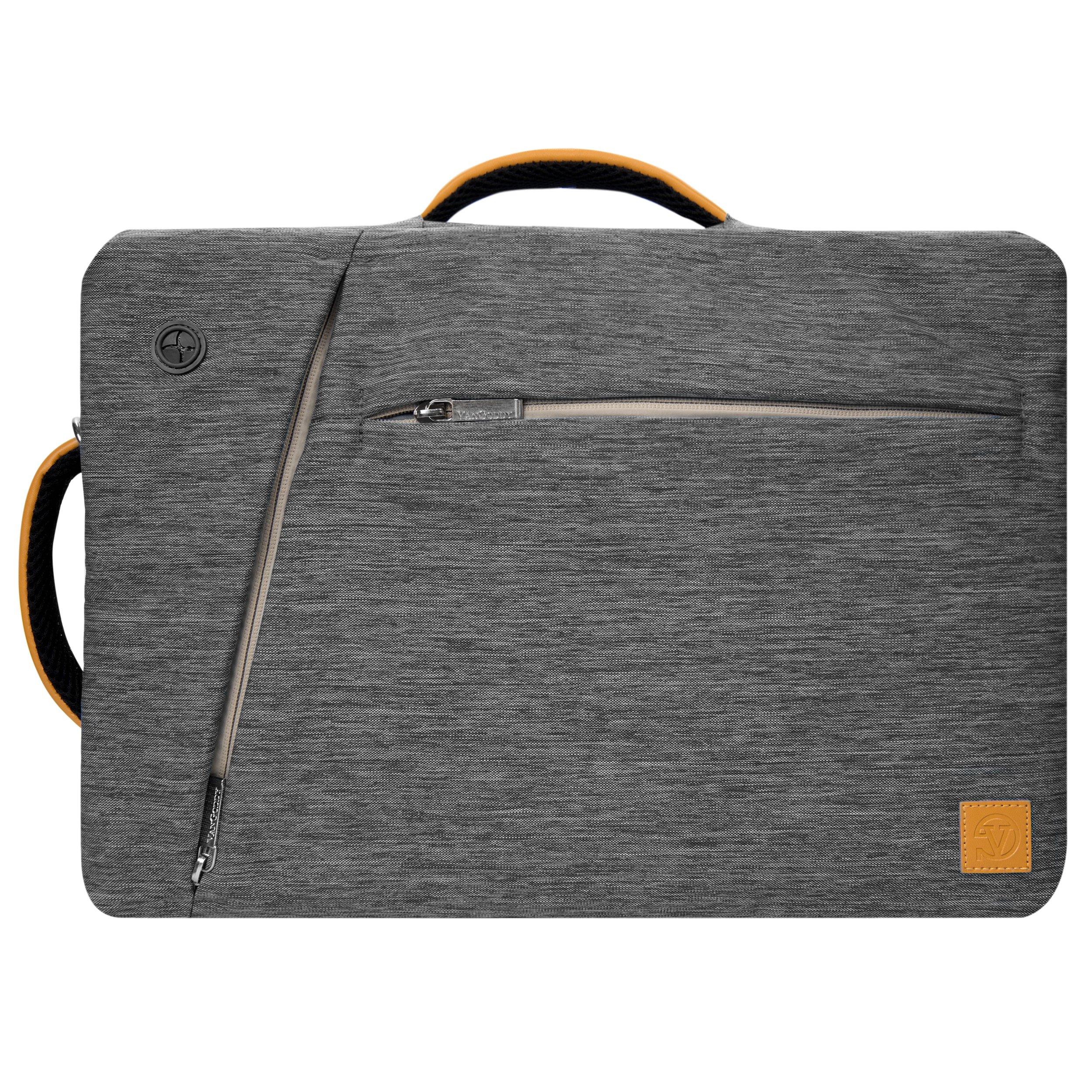 Lightweight Gray Hybrid Messenger/Briefcase