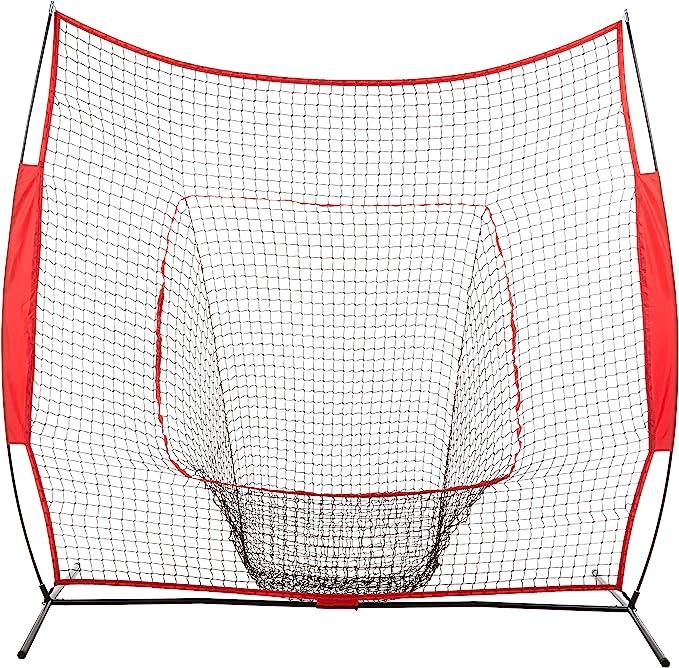 Portable Big Opening Ball Bracket Baseball Softball Rack Triangular Net And Case