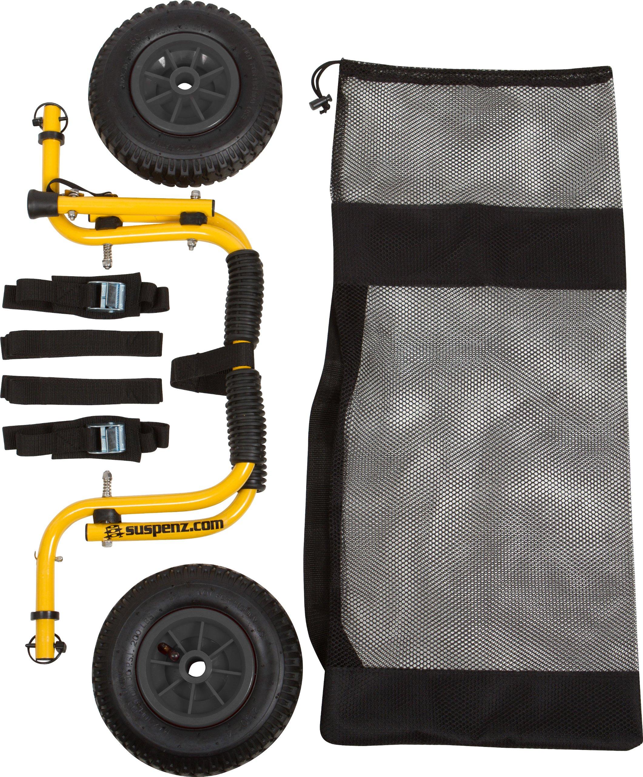 Suspenz Smart Airless DLX Cart by Suspenz