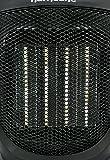 Hurricane Heat Ceramic Heater, 9 Inch, Black