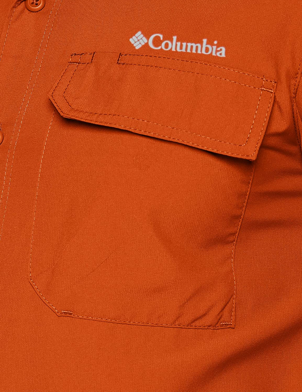 Camicia a Maniche Lunghe Uomo Columbia Silver Ridge II