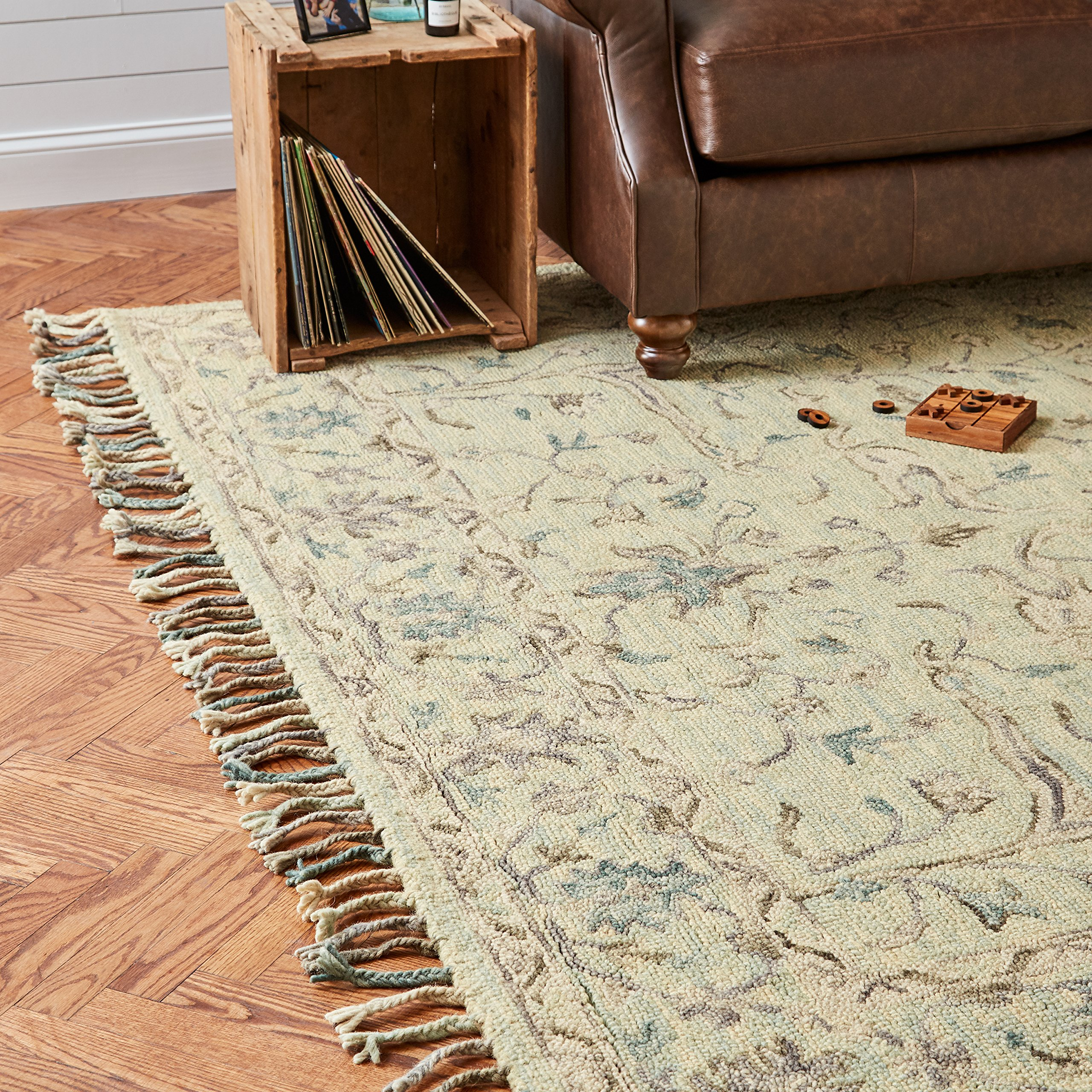 Stone & Beam Serene Transitional Wool Area Rug, 8' x 10', Multi by Stone & Beam (Image #3)