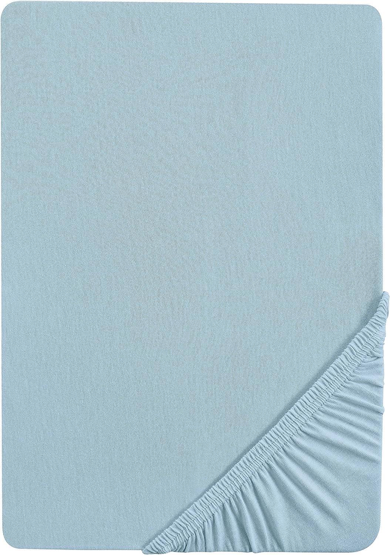 nach /Öko-Tex Standard 100, ca. 60 x 120 cm bis 70 x 140 cm Biberna 2744//114//046 Biber Spannbetttuch altrosa