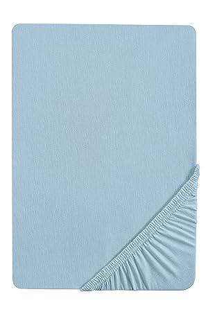 Biberna 2744/220/046 Drap housse en flanelle de coton pour un lit