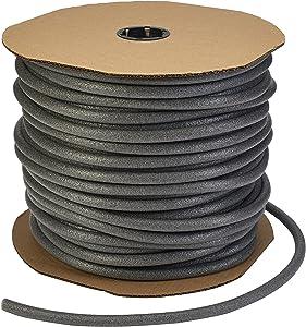 """Mutual Industries 250-0-0 Standard Backer Rod, 4000 Linear Feet, 1/4"""""""