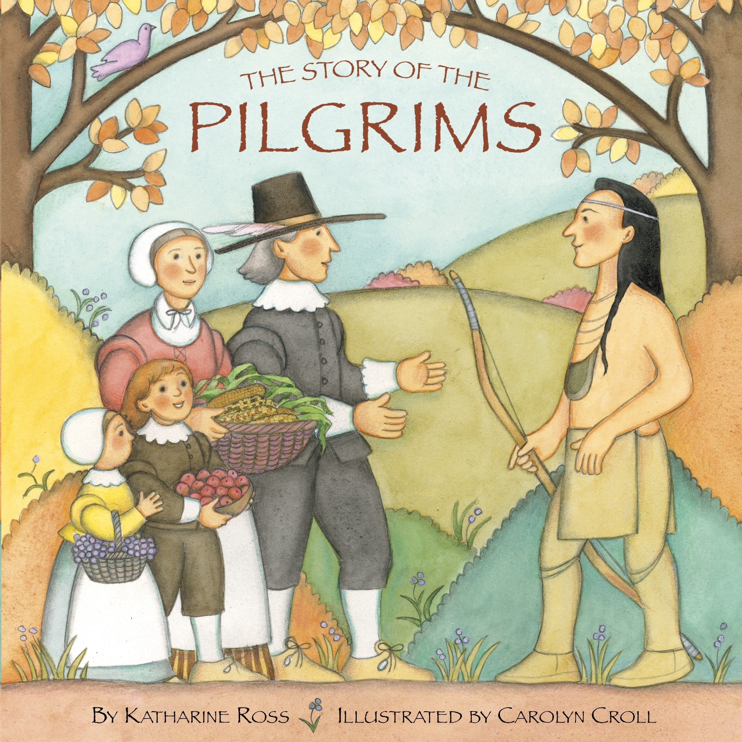 The Story Of The Pilgrims Pictureback R Ross Katharine Croll