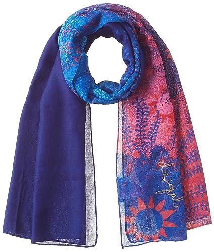 DESIGUAL Fular CARLIN Mujer - 17WAWFF7-5000-U