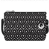 Travelon Travelon Women's Anti-theft Boho Clutch Crossbody Cross Body Bag, Geo Shell (multi) - 33222 51A