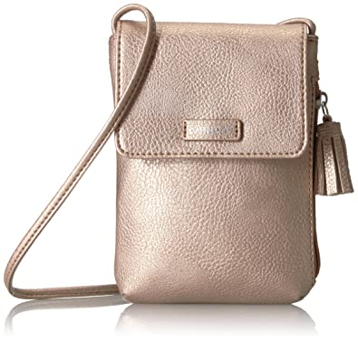 2347b4df209 Relic by Fossil Women's Ns Phone Minibag Rose Gold