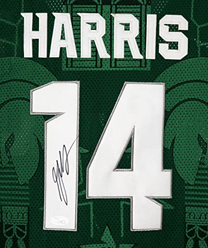 c9085837d4d3 Gary Harris Michigan State Spartans Signed Autographed Green  14 Jersey  Size L JSA COA