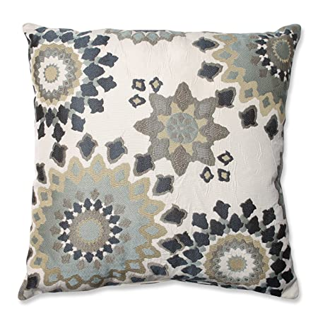 Pillow Perfect Marais Floor Pillow, 24.5-Inch