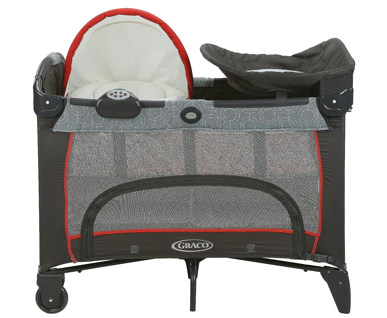 graco bedroom bassinet sienna. amazon.com : graco pack \u0027n play newborn napper dlx playard, solar baby bedroom bassinet sienna
