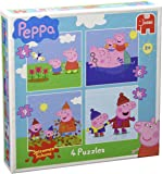 Peppa Pig Jigsaw Puzzles in a Box (4/6/9/16-Piece)