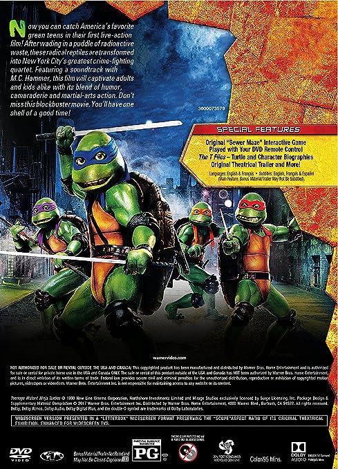 Amazon.com: Teenage Mutant Ninja Turtles (1990): Steve ...
