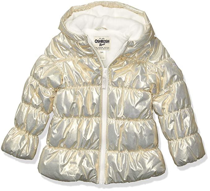 Amazon.com: OshKosh BGosh Perfect Puffer - Chaqueta para ...