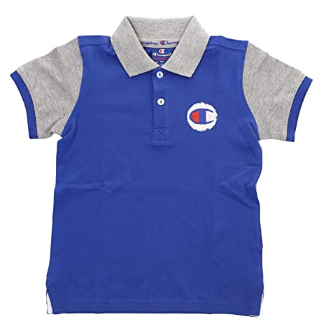 Champion k-polo Auth. Cotton Pique Cha BS008, turquesa, Small ...