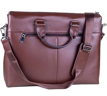 435a31d8321ce Laptoptasche aus Leder für Herren oder Damen  Amazon.de  Elektronik