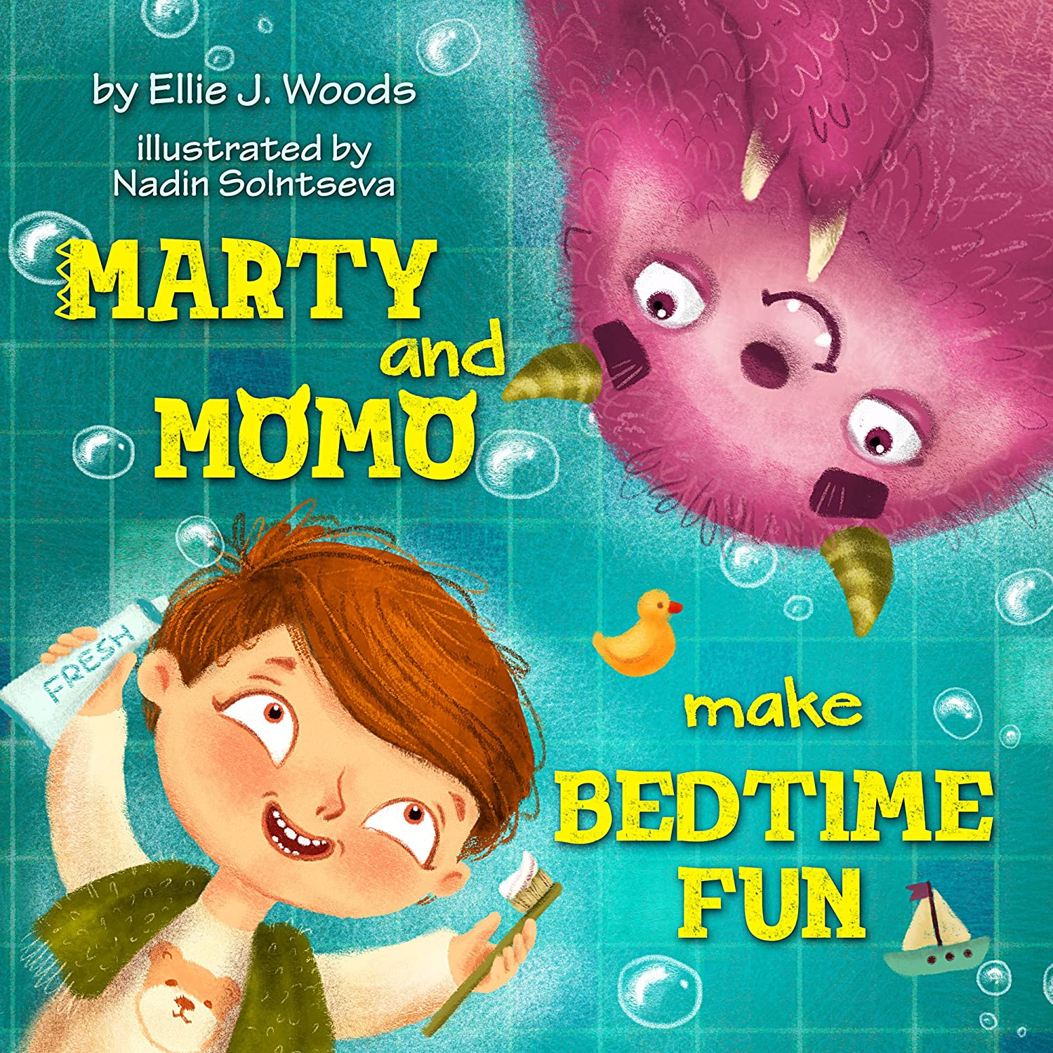 Marty and Momo Make Bedtime Fun: (Childrens book about a Boy and ...