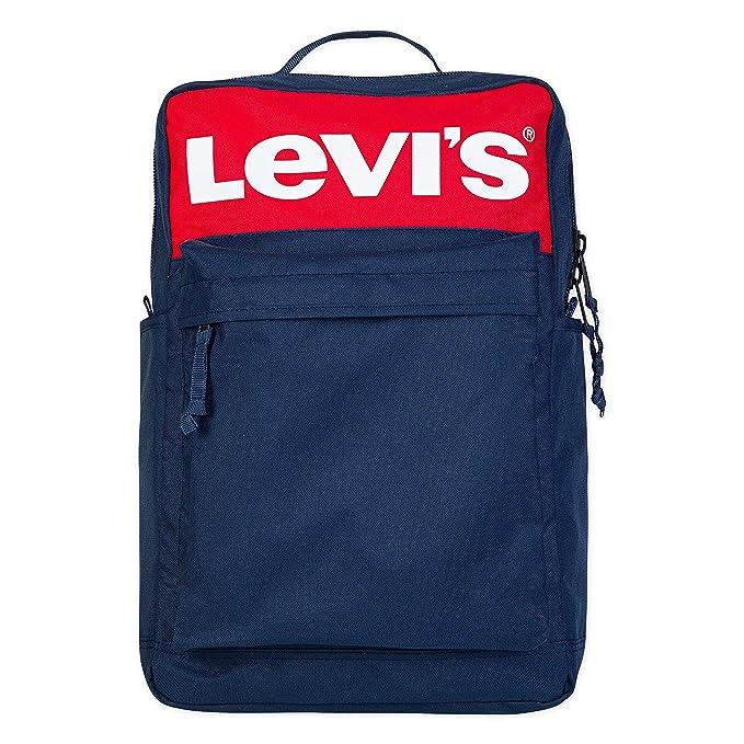 Levi's 李维斯 大Logo 男式双肩包 3.4折$18.73史低 海淘转运到手约¥159